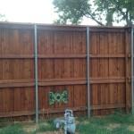 Custom Shadow Box Privacy Fence