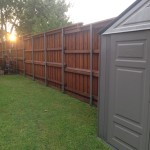 Privacy Fence WIth Rail--iConcrete